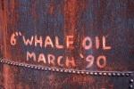 Whale Oil tanks